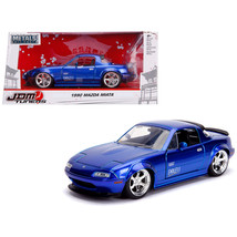 1990 Mazda Miata Endless Candy Blue JDM Tuners 1/24 Diecast Model Car by Jada 30 - $29.88