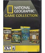 NATIONAL GEOGRAPHIC GAME COLLECTION FOR PC - $9.85