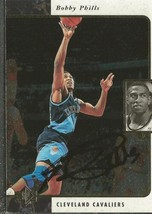 Bobby Phills 1995 SP Authentic Autograph #28 Cavaliers Southern - £42.77 GBP