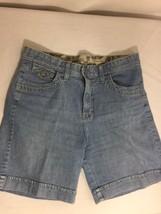 Lee Comfort Women Blue Shorts Size M Solid Color Made In Vietnam Bin62#29 - $12.19