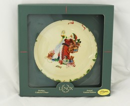1994 Annual Vintage Lenox Holiday Christmas Plate w/Box No.4 in Series - $39.59