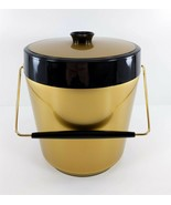 Thermo-Serv MCM Gold Ice Bucket West Bend Color EUC - $29.69