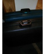 """(2) Two Vtg 29"""" Samsonite Oyster Estes Hard Shell Rolling Suitcases Clam... - $166.25"""