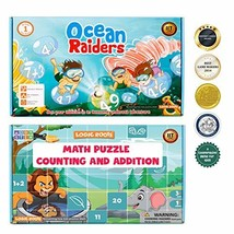 LogicRoots Number Counting, Sequencing and Addition Math Games and 6 Puzzles 53  image 1