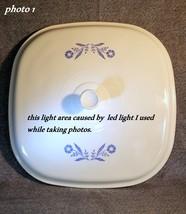 Corning Ware Pyroceram Lid For a 10 Inch Casserole Dish - P 35 B  - $12.86