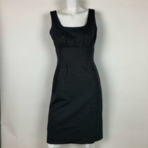 J Crew Dress Wool Gray Sheath Career Women Sz 4 - $59.99