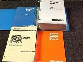 2000 Mazda 626 Reparación Manual Taller Juego con Eje Transversal Libros Ewd + - $139.15