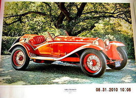 alfa romeo owners poster parts service supercharged - $19.99