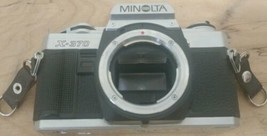 Minolta X-370 35mm SLR Film Camera - Black Body Only clean analog photo hip (e - $39.59
