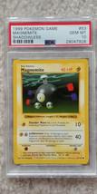 Pokemon Magnemite 53/102 Shadowless Base Set PSA 10 1999 Pokemon TCG Car... - $32.99