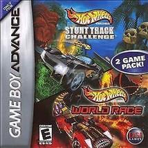 Hot Wheels: Stunt Track Challenge/Hot Wheels: World Race (Nintendo Game ... - $5.95