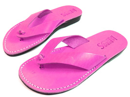 Leather Sandals for Men and Women VICTORY by SANDALIM Biblical Greek Sum... - $39.83 CAD+
