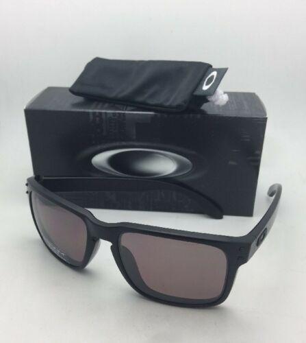 Polarisierend Oakley Sonnenbrille Holbrook OO9102-90 Matt Schwarz Rahmen W /