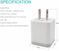 ZLONXUN Wall Charger 10W with Cable image 4