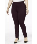 Style&Co. Women Plus leggings Comfort Waist Mid Rise Pull On brown size 18W - $19.69