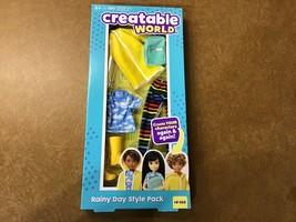 Creatable World Rainy Day Style Fashion Pack - $9.05