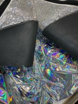 Wut? sickening CRYSTAL TRAITOR BOOTS SIZE 10 IN HAND! Ships Today! image 7