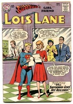 Superman's Girl Friend Lois Lane #45 1963- reading copy - $18.92
