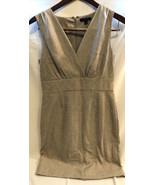 BANANA REPUBLIC taupe melange business dress size 8 P - $19.79