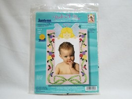 Janlynn Peek A Boo Angel Counted Cross Stitch Photo Frame Kit Number 36-38 - $11.99