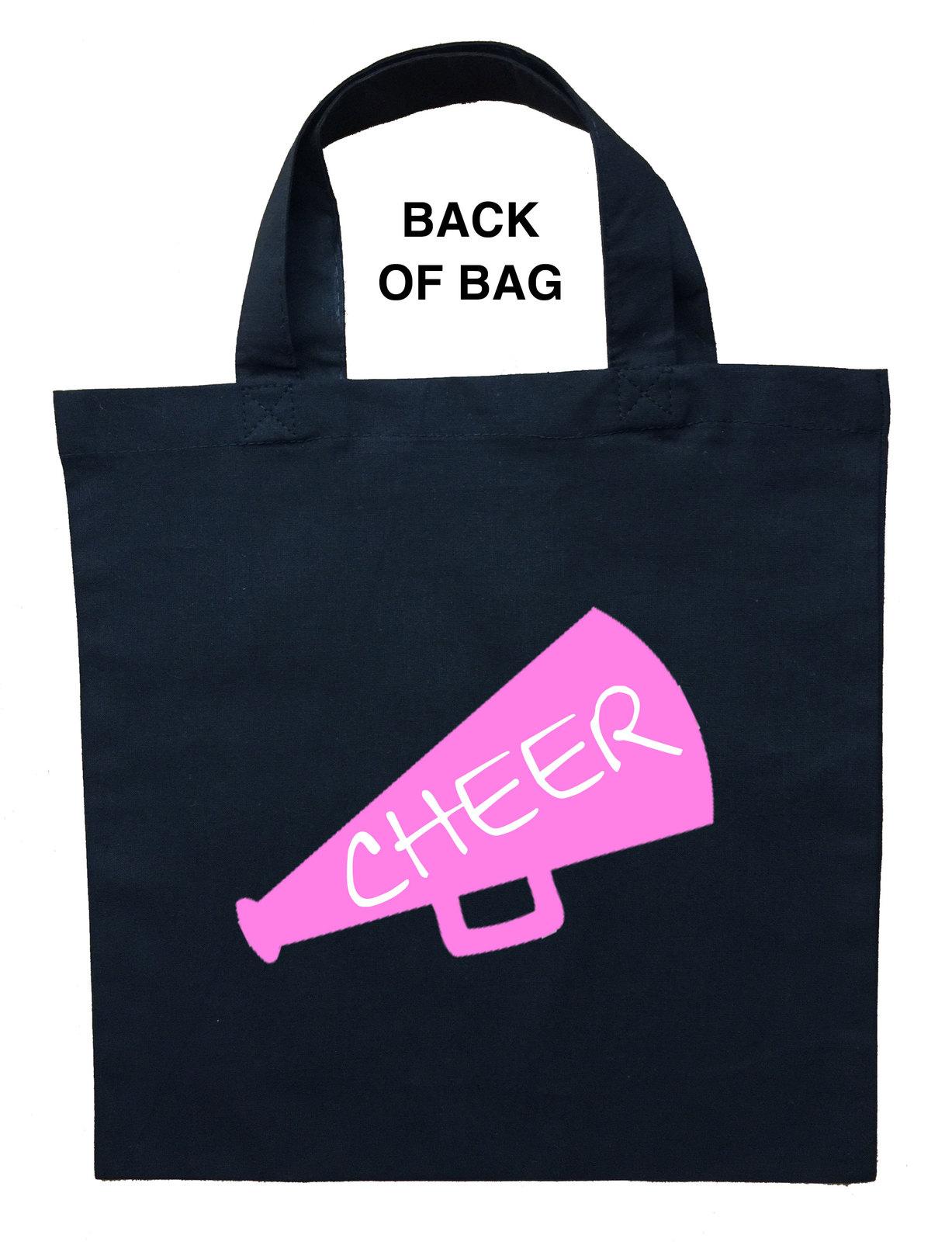 Cheerleader Trick or Treat Bag, Cheerleader Halloween Bag, Cheerleader Bag