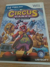 Nintendo Wii Circus Games: 20 Big Top Classics ~ COMPLETE image 1