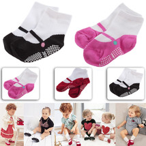 0-2 Year Old Newborn Baby Girl Ballet Shape Anti-Slip Socks Shoes 9cm Bo... - $2.30