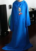 SEGA Sonic The Hedgehog  Blue SNUGGIE Warm COMFY Blanket Throw - $39.99
