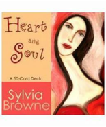 Heart and Soul 50-Card Deck by Sylvia Browne - $10.00