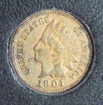 1901 Indian Head Penny EF Details #0435 - $3.99