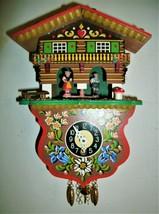 Weather House wind-up Novelty clock,Cuckoo clock shop item - $59.00