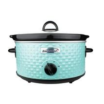 BrentwoodA Appliances Sc-136bl 3.5-quart Diamond-pattern Slow Cooker (blue) - $52.63