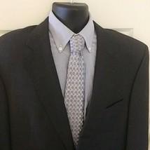 JoS. A Bank Mens 42l Signature Gold Gray Glen Plaid Blazer Sport Coat Ja... - $20.79