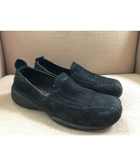 MERRELL PRIMO MOC MIDNIGHT (BLACK) NUBUCK SLIP ON SHOES WOMENS SIZE 8 - $14.95