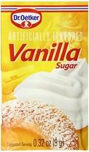 Dr. Oetker Vanilla Sugar, .32-Ounce Pack of 6