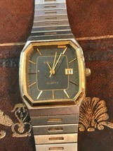 Waltham Two Tone Gold Trim & Details WATCH-EXCELLENT Working Condition - $57.82