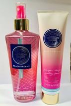 LOT SET Victoria's Secret VS in Paradise Beach Dreams Mist and Lotion 250 ML - $32.62