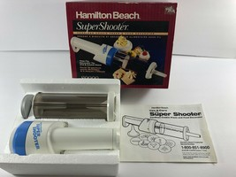 Vintage Hamilton Beach Super Shooter Brand New Cookie Press Model 80000 - $39.59