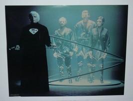 Original 1978 Superman DC Comics action movie pin-up poster 1: Marlon Br... - $24.74