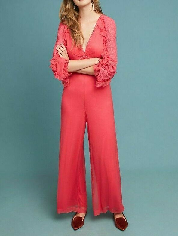 Anthropologie Janett Jumpsuit by Bl-nk $198 - NWT