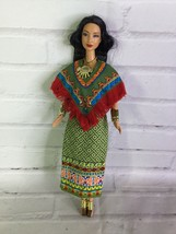 Mattel Dolls of the World Princess of Ancient Mexico Barbie Doll Dress Outfit - $44.54