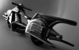 Harley Davidson Motorcycle Metal Mid Century Modernism Vintage Antique 1... - $249.00