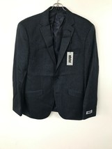Kenneth Cole Mens Unlisted Sport Coat 420 Blue 38S - $29.02