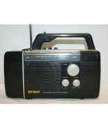 Hopesonic HE-873 Am FM Radio Cassette with Lantern TESTED AND WORKS - $30.69