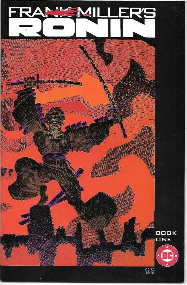 Primary image for Frank Miller's Ronin Comic Book #1 DC Comics 1983 VERY FINE NEW UNREAD