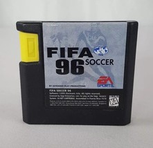 FIFA Soccer 96 (Sega Genesis, 1995) VGC Cartridge Only - $7.90