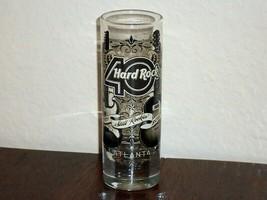 Hard Rock Cafe Shot Glass 40th ANNIVERSARY Still Rockin 2011 Shooter 4 inch - $11.88