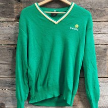 Vintage Glencree Irlande Trèfle St Patrick Pull Acrylique Taille Hommes ... - $14.80