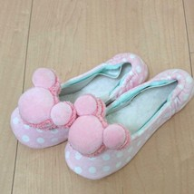 Tokyo Disney Resort Limited Mickey mouse Macaroon Room shoes slippers Mp... - $54.45