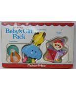 Vintage Fisher Price Crib Playpen Babys Gift Pack 1983 One Ring Circus C... - $67.31